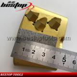 5X1/4 PCD met de Malende Schoen van de Diamant van de Molen van Seg HTC van de Staaf