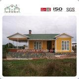 Edificio modular prefabricado comprable de la estructura de acero/chalet móvil/casa prefabricada