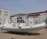 中国Liyaボートをいかだで運ぶ漁船20フィートのPVC膨脹可能な川の
