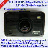 """2.7 """" câmera cheia confidencial da caixa negra do carro de HD 1440p com o carro DVR de Novatek 96660, G-Sensor, visão noturna, gravador de vídeo de estacionamento de Digitas do traço do carro do controle"""