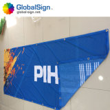 Polyester Fabric Mesh Fence Banner for Signal Quality Display