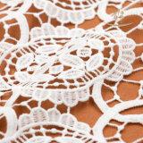 Tessuto poco costoso del merletto del ricamo 2017, merletto africano del cavo