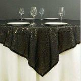 Скатерть Sequin золота серебряная для таблицы Sequin венчания красивейшей Overlay для домашнего украшения