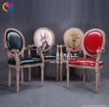 Hlyのマニキュアのための卸し売り高貴な大広間の顧客の椅子/顧客の椅子
