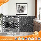 Shell caliente del mar del color del negro del diseño, piedra, mosaico de cristal (M853002)