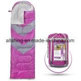 単一の寝袋のエンベロプの形をBackpacking 4季節