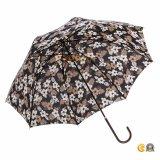مستقيمة مظلة خطّاف [بوش-بوتّوم] مقبض مع