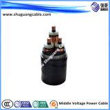 PVC isolé/câble examiné/par Muti-Core/PVC engainé bande d'Armoured/Cu de commande