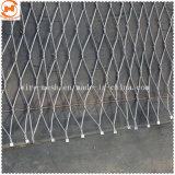 Декоративная защита проволочного каната сетку из нержавеющей стали