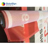 Kundenspezifischer Belüftung-Zaun-überzogene Ineinander greifen-Fahne für im Freien