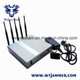 Мобильный телефон GPS 5 полос с Jammer сигнала дистанционного управления