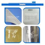 Máquina portable de la marca del grabado del laser del texto de la insignia de la placa de identificación del metal