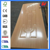 Pelle di legno del portello della melammina della muffa laminata interiore del legname del MDF HDF (JHK-MN16)