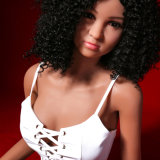 кукла секса TPE реальности девушки Xxx негра груди 165cm малая для человека