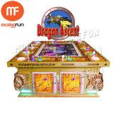 Ascenso de dragón de la ranura del Casino Juego de pesca de la máquina de monedas