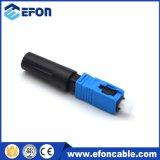 Sc/APC SC/PC rápido montaje en campo de Fibra Óptica FTTH conector conector rápido