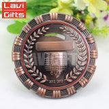 Médaille de cuivre antique faite sur commande en gros de prix usine pour le volleyball