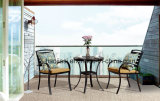 Alumínio ao ar livre/do jardim/Patio/Rattan/& tabela HS6123dt de Polywood