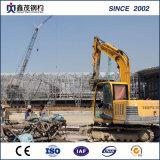 Fabriqué en acier haute résistance des bâtiments commerciaux avec la structure en acier