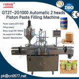 Pasta e máquina de enchimento automáticas do líquido para o creme (GT2T-2G1000)