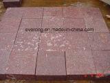 Rood Porfier/de Rode Tegels van het Graniet/Cobble/van de Steen het Bedekken voor Project