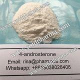 Polvo sin procesar del polvo 4-Ad del grado 4-Androsterone de Pharma