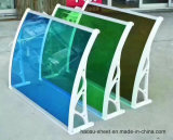 Feuille creuse solide de tente de polycarbonate