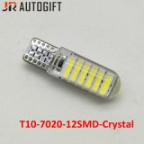 Lampada automobilistica 12SMD 7020 del LED 194 lampadine di Clearence LED dell'automobile di W5w T10