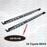 Auto côté Accessorire étape Running Boards pour Toyota RAV4 2014/2015/2016