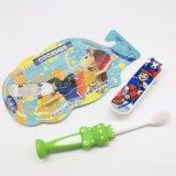 O miúdo/criança/Toothbrush das crianças com as cerdas delgadas & macias, presente incluíram o bloco 181
