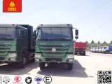 Sinotruk HOWO 12wheels 6X4のダンプトラックの頑丈なダンプカートラック