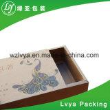 Caja de cartón de encargo acanalada del embalaje del regalo del té del café del color grande