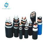 4x240sqmm Cu/bande en acier avec isolation XLPE 600/1000blindé V Câble électrique