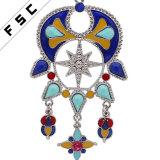 [بوهو] خرزة [هندمد] [إيندين] طويلة يتزوّج مجوهرات مكتنزة خانق عقود