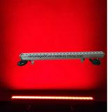 24 피스 10W RGBW 사건 디스코 옥외 IP 65 LED 벽 세탁기 빛