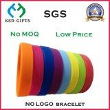 Förderung-billig gedrucktes Silikonwristband-/gummi-Armband