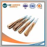 Escariador sólido de carburo de tungsteno con diferentes Flautas