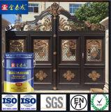 Относящая к окружающей среде нетоксическая цветастая краска брызга краски металла для двери обеспеченностью
