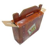 يطبع [ب] خدة يغضّن صندوق مع مقبض