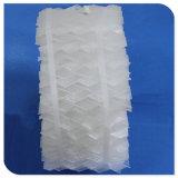 Empaque estructurado de plástico para la purificación de gas de cola