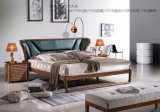 Modernes Art-Wohnzimmer-Leder-Sofa-Set