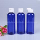 زرقاء [100مل] محبوب زجاجة مع بيضاء نقل غطاء [بت-18]