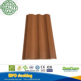 Decking composé en plastique en bois décoratif de texture en bois antiseptique de WPC (B20-140-4)