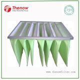 Multi filtro de saco Pocket usado em aplicações do condicionamento de ar