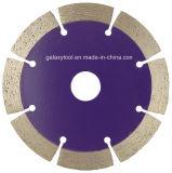 114mm segmento especial de la hoja de sierra de diamante de corte en seco para el cortador de mano