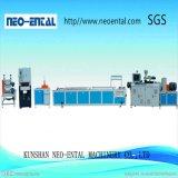 Ligne à grande vitesse de production à la machine d'extrusion de profil de PVC