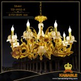 Hauptwohnzimmer-klassische Goldkerze-hängende Lampe (TD-0932-6)
