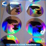 Étiquette de collant d'hologramme des nouveaux produits 3D
