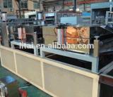 Machine van de Uitdrijving van het Blad van de Kop van het Huisdier van de Schroef van het roestvrij staal de Tweeling Plastic