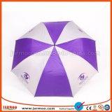 """30발의 """" Straight Custom Colorful Company 로고에 의하여 인쇄되는 골프 우산"""